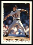 1995 Topps #50  Mike Mussina  Front Thumbnail