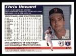 1995 Topps #177  Chris Howard  Back Thumbnail
