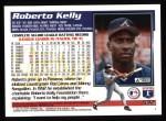 1995 Topps #532  Roberto Kelly  Back Thumbnail