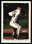 1995 Topps #219  Kevin Rogers  Front Thumbnail