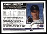 1995 Topps #552  Vinny Castilla  Back Thumbnail