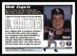 1995 Topps #229  Bob Zupcic  Back Thumbnail