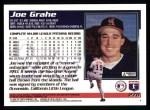 1995 Topps #278  Joe Grahe  Back Thumbnail