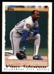 1995 Topps #419  Vince Coleman  Front Thumbnail
