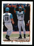 1995 Topps #440  Gary Sheffield  Front Thumbnail