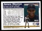 1995 Topps #597  James Mouton  Back Thumbnail