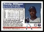 1995 Topps #226  Randy Milligan  Back Thumbnail