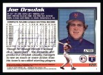 1995 Topps #128  Joe Orsulak  Back Thumbnail