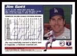 1995 Topps #332  Jim Gott  Back Thumbnail