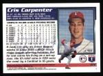1995 Topps #99  Cris Carpenter  Back Thumbnail