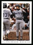 1995 Topps #539  Joe Girardi  Front Thumbnail