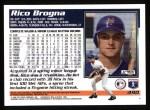 1995 Topps #490  Rico Brogna  Back Thumbnail