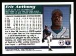 1995 Topps #565  Eric Anthony  Back Thumbnail