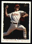 1995 Topps #144  Tommy Greene  Front Thumbnail