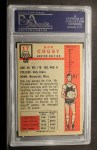 1957 Topps #17  Bob Cousy  Back Thumbnail