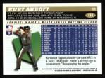 1996 Topps #118  Kurt Abbott  Back Thumbnail