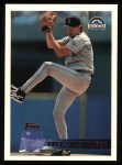 1996 Topps #292  Bret Saberhagen  Front Thumbnail