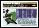 1996 Topps #300  Barry Bonds  Back Thumbnail