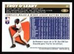 1996 Topps #91  Troy O'Leary  Back Thumbnail