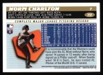 1996 Topps #392  Norm Charlton  Back Thumbnail