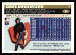 1996 Topps #40  Orel Hershiser  Back Thumbnail