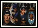 1996 Topps #435  Vladamir Guerrero / Andruw Jones  Front Thumbnail