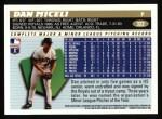 1996 Topps #322  Dan Miceli  Back Thumbnail