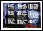1996 Topps #110   Checklist (1-110) Front Thumbnail