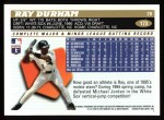 1996 Topps #173  Ray Durham  Back Thumbnail