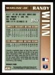 1996 Topps #235  Randy Winn  Back Thumbnail