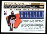 1996 Topps #154  Geronimo Berroa  Back Thumbnail