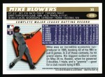 1996 Topps #419  Mike Blowers  Back Thumbnail