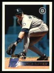 1996 Topps #419  Mike Blowers  Front Thumbnail