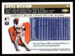 1996 Topps #178  Otis Nixon  Back Thumbnail