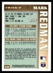1996 Topps #14  Mark Redman  Back Thumbnail