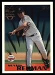1996 Topps #14  Mark Redman  Front Thumbnail