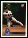 1996 Topps #287  Rey Sanchez  Front Thumbnail