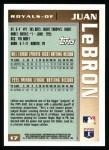 1996 Topps #17  Juan LeBron  Back Thumbnail
