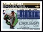 1996 Topps #266  Kent Mercker  Back Thumbnail
