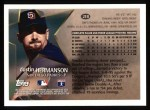 1996 Topps #218  Dustin Hermanson  Back Thumbnail