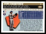 1996 Topps #351  Tim Crabtree  Back Thumbnail