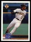 1996 Topps #72  Jacob Brumfield  Front Thumbnail