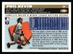1996 Topps #348  Phil Nevin  Back Thumbnail
