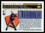 1996 Topps #417  Shawn Green  Back Thumbnail