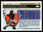 1996 Topps #282  Jeff Cirillo  Back Thumbnail