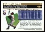 1996 Topps #83  Mark Lemke  Back Thumbnail