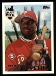 1996 Topps #240  Reggie Taylor  Front Thumbnail