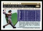 1996 Topps #259  Rico Brogna  Back Thumbnail
