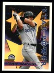 1996 Topps #5  Larry Walker  Front Thumbnail