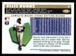 1996 Topps #123  Ellis Burks  Back Thumbnail